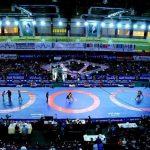 لیگ برتر کشتی فرنگی کشور در اهواز برگزار می شود