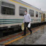 انجام تست کرونا در ایستگاه های راه آهن اهواز
