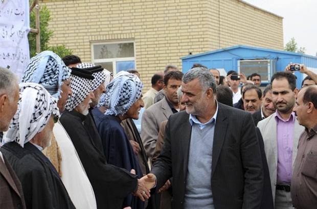 بازدید وزیر کشاورزی از طرح ۵۵۰ هزار هکتاری خرمشهر