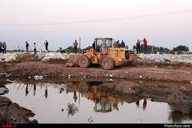 بیش از ده سازه غیرمجاز در زمینهای کشاورزی اندیمشک تخریب شدند