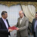 برگزاری مراسم تودیع و معارفه سرپرست اداره کل شیلات خوزستان