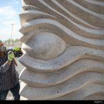 افتتاح نخستین سمپوزیوم بین المللی مجسمه سازی اهواز