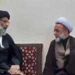 نماینده ولی فقیه در خوزستان با نماینده مقام معظم رهبری در هندوستان دیدار کرد