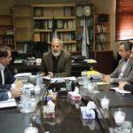 برگزاری نشست مشترک شهردار اهواز و سرپرست شعب بانک شهر خوزستان