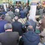نماز جماعت در مساجد شهرهای زرد کرونایی اقامه شد