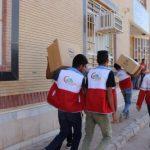 ۱۰۵ بسته های بهداشتی توسط هلالاحمر اندیمشک توزیع شد