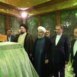 تجدید میثاق اعضای هیئت دولت با آرمانهای بنیانگذار انقلاب