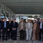 پاسداشت روز شهید با حضور مقامات سازمان آب و برق خوزستان در گلزار شهدای اهواز