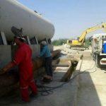اتمام پروژه جمع آوری پساب تصفیه خانه بندر امام خمینی (ره)