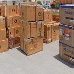 ۱۱۰ دستگاه کولرگازی به اهالی منطقه عین ۲ اهواز اهدا شد