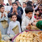 گرگیعان یا قرقیعان نام یک آیین سنتی رایج بین مردم عرب استان خوزستان