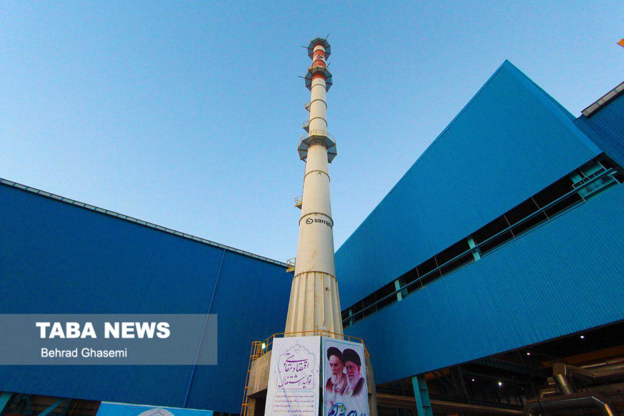 گزارش تصویری تابا از آیین افتتاح شرکت فولاد کاوه اروند خرمشهر