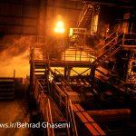 ثبت رکورد تولید توسط فولاد اکسین در ۱۱ سال گذشته