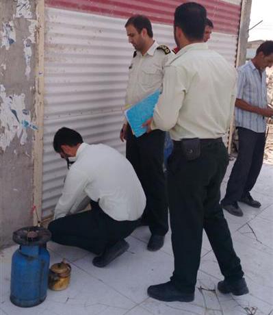 کارگاه خشکبار غیر مجاز در شرق اهواز پلمپ شد