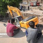 اینجا منازل مسکونی بدون وقوع زلزله آوار می شوند!
