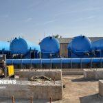 ۹۰ درصد آب شرب آبادان از طرح غدیر تامین میشود