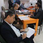 تصاویر ثبت نام دکتر ابراهیم منصورنژاد در یازدهمین دوره انتخابات مجلس شورای اسلامی شهرستان اهواز