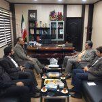 نشست سرپرست فرمانداری اهواز با مدیرعامل شرکت فولاد اکسین