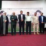 مراسم تکریم و معارفه فرمانده ناحیه مقاومت بسیج هندیجان برگزار شد