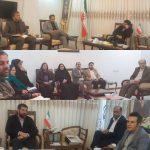 دیدار گروهی از فعالین محیط زیست اهواز با استاندار خوزستان