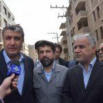 وزیر راه و شهرسازی در بندر ماهشهر