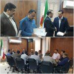 انتصاب مدیران جدید در دو اداره صنعت معدن و امور آب بهبهان