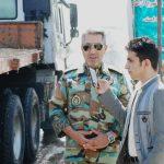 ایستگاه رفع آلودگی کرونا در ورودی خوزستان مستقر است