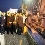 تصفیه خانه فاضلاب شرق اهواز با حضور جهانگیری افتتاح شد