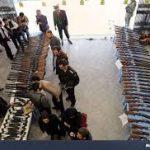 کشف ۷۸ قبضه سلاح شکاری غیرمجاز در اهواز