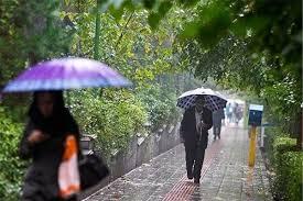 هشدار سطح نارنجی هواشناسی و پیش بینی بارندگی در خوزستان