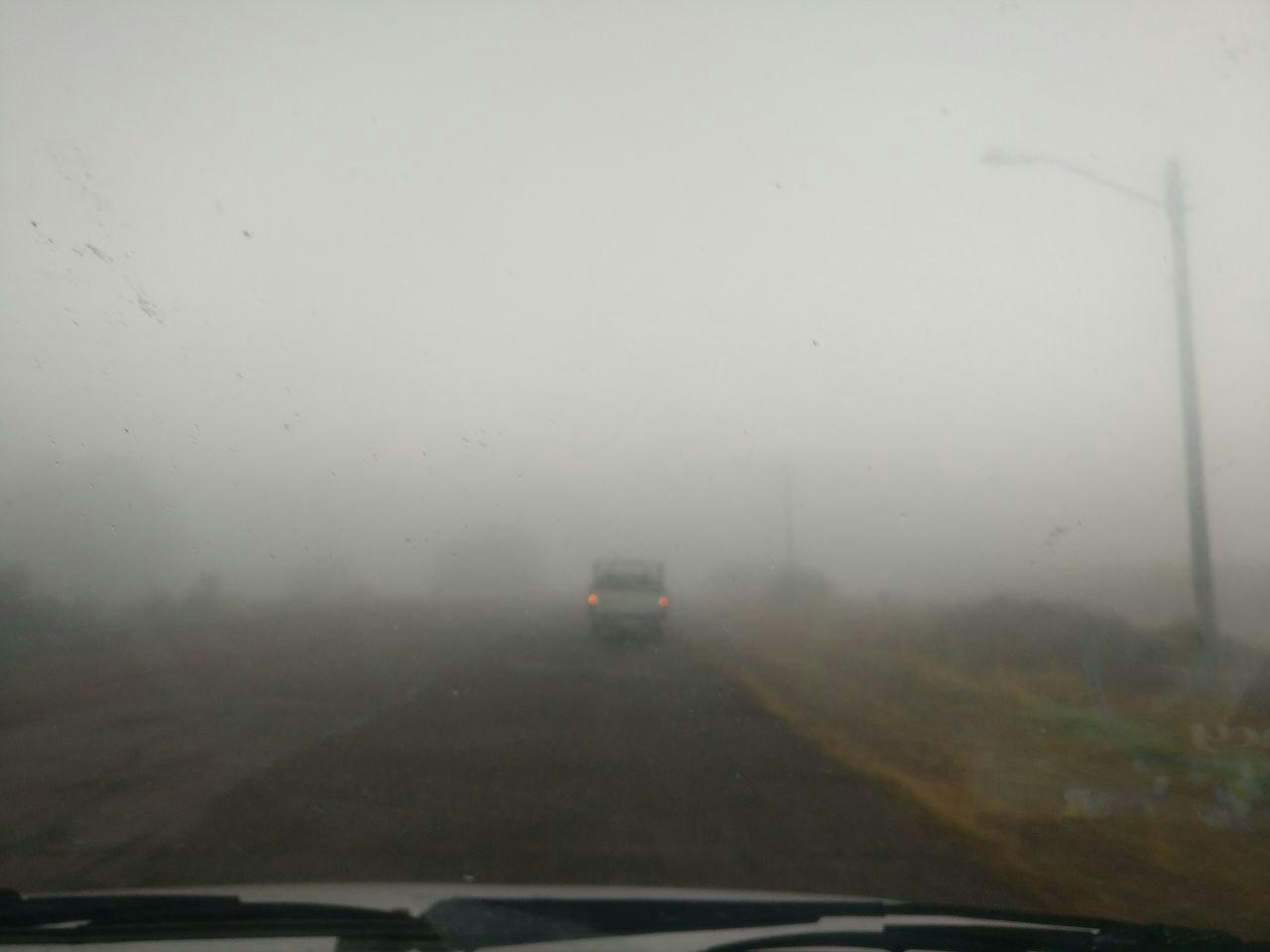 مه غلیظ شعاع دید را در ۹ شهر استان کاهش داد