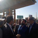 هم اکنون بازدید استاندار خوزستان از خط انتقال آب غدیر در تصفیه خانه آب شماره یک اهواز