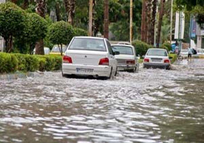 اطلاعیه هواشناسی در خصوص آبگرفتگی معابر و طغیان مسیل ها