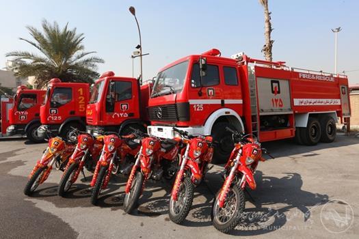 ۵۰ خودرو به سازمان آتشنشانی اهواز اختصاص یافت