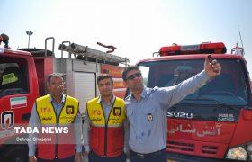 ناوگان آتش نشانی شهرداری اهواز به روزرسانی شد