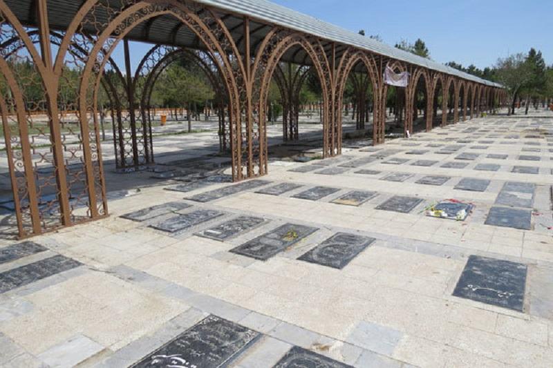 تعطیلی آرامستان بهشت آباد، قدیم و باغ فردوس