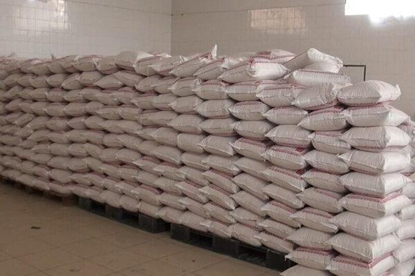 بیش از ۳ تُن آرد قاچاق در هویزه کشف شد