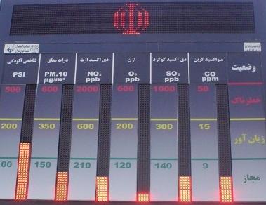 افتتاح چهار ایستگاه سنجش آلودگی هوا در اهواز