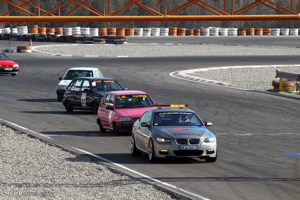 برترین های مسابقات اتومبیلرانی اسلالوم در اهواز شناخته شدند