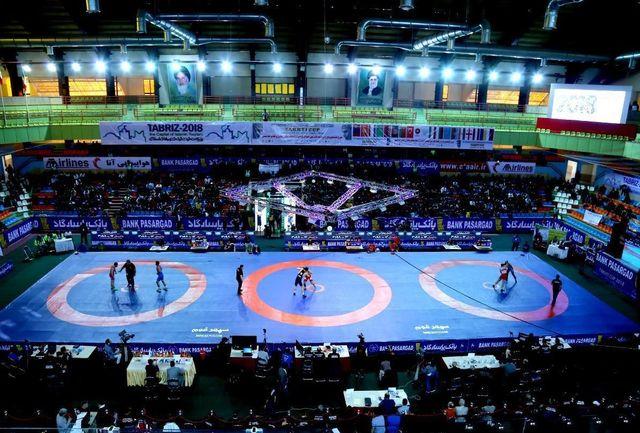 اعزام فرنگی کاران خوزستان به مسابقات بین المللی کشتی اوکراین