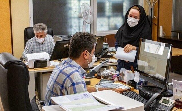ورود کارکنان به ادارات فقط با کارت واکسیناسیون