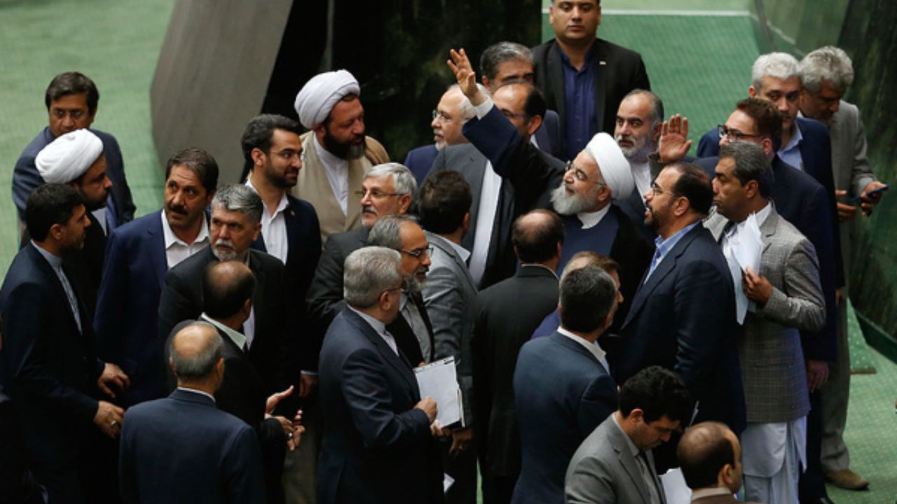 مخالفت روحانی با مصوبه اخیر مجلس درباره برجام