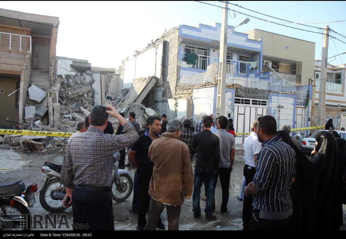 انفجار گاز در یک واحد مسکونی در اهواز