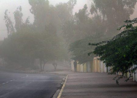 وزش باد همراه با گرد و غبار پدید غالب در خوزستان