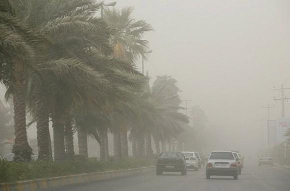 هشدار نسبت به ریزش تگرگ و تندباد های لحظه ای در خوزستان