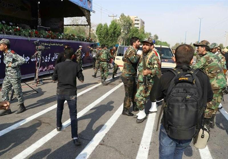 نصب اِلمانهای تصاویر شهدای حادثه ۳۱ شهریور در ورودی شهرستانهای خوزستان