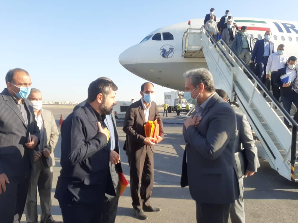 وزیر جهاد کشاورزی وارد خوزستان شد