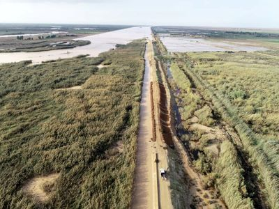 ۲۵۷۱ مترمکعب بر ثانیه از حجم سیلاب رودخانه جراحی مهار شد