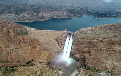 رها سازی آب از سد مارون بهبهان آغاز شد