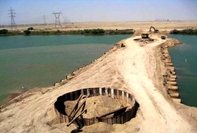 تنها ۴۸ درصد از حجم سد جره تکمیل شده است